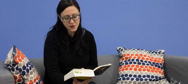 Thekla Kraußeneck liest aus ihrem Roman Cronos Cube