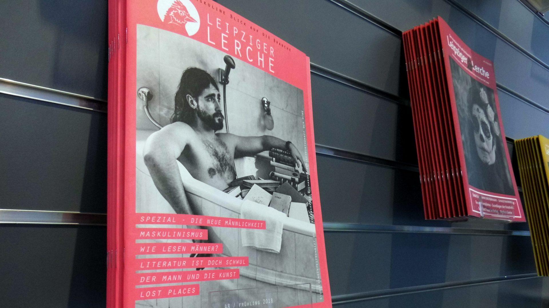 """Auf der Leipziger Buchmesse im März vorgestellt, liegt die akuelle Ausgabe der """"Leipziger Lerche"""" für euch bereit."""